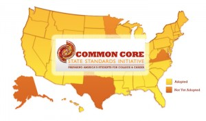 common core standards: taking the nation over, but they have to be part of something else
